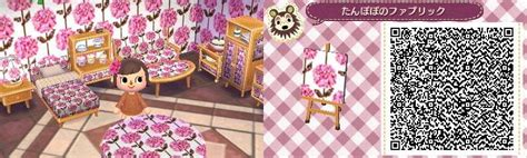 cute wallpaper qr codes cute wallpaper table cloth pattern animal crossing new