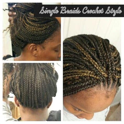 single braids crochet style check    tube channel