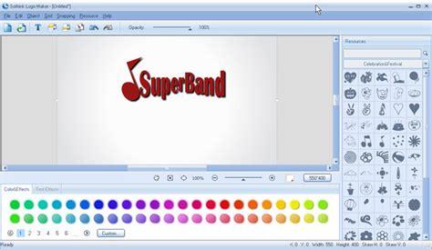 how to make a logo for free on mac make band logos make band logos with sothink logo maker