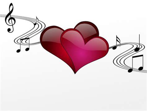 imagenes de corazones musicales las 10 canciones m 225 s rom 225 nticas san valent 237 n fiestas