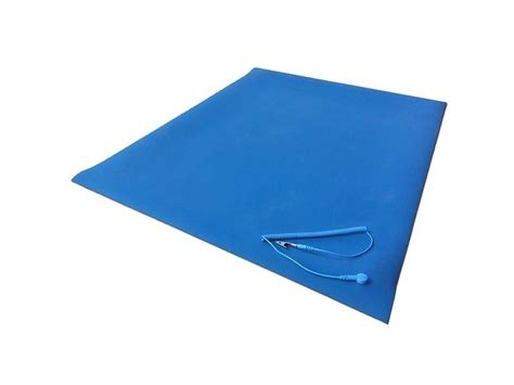 Static Discharge Mat by Cleanwirth 60cm X 120cm Rubber Anti Static Mat W Ground Clip Cl0 Ebay