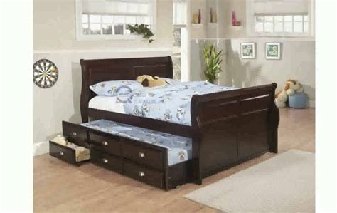 queen bed with trundle trundle bed frame queen size youtube
