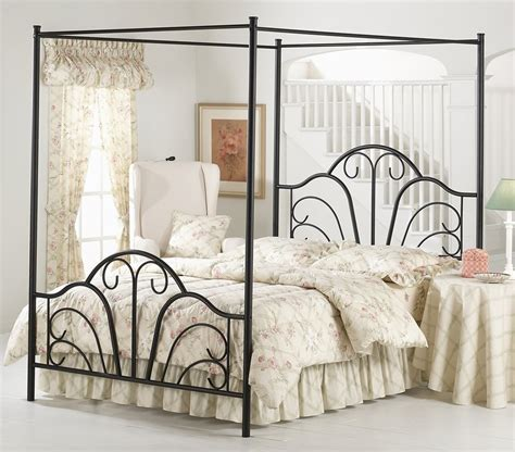 Black King Canopy Bed King Size Canopy Bed
