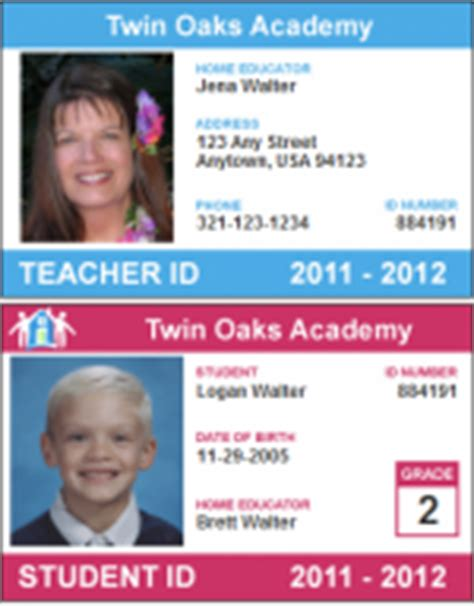 printable homeschool id cards last call for big curriculum savings at the co op