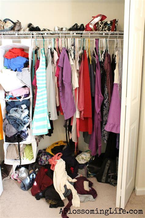 messy closet 0 closet organization