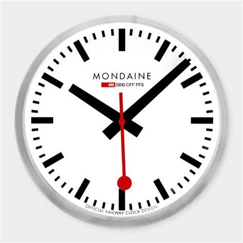 mondaine wall clock 1000 ideas about swiss railway clock on pinterest swiss