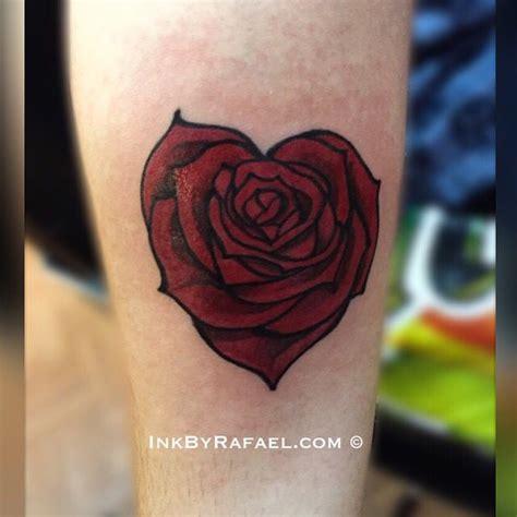 blooming rose tattoo shaped blooming inkbyrafael