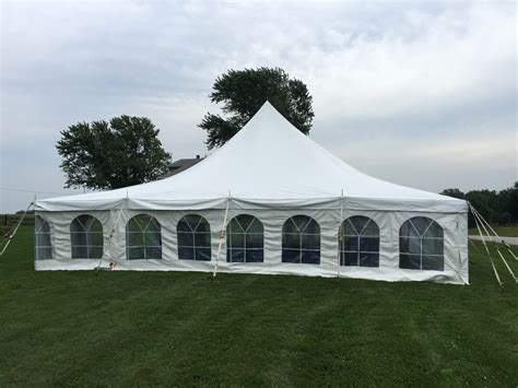 backyard tent wedding outdoor wedding receptions set up by big ten rentals