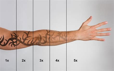 laser tattoo removal how many sessions how much does laser removal cost fade to blank