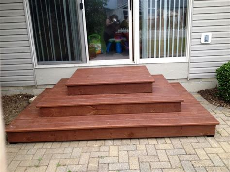 patio steps by ethanv lumberjocks woodworking