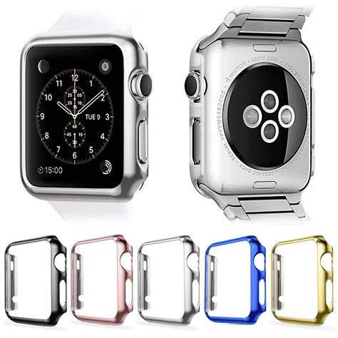 Sale Hardcase Screen Protector For Apple 42mm Series 2 for apple iwatch series 2 3 protector cover screen protector 38 42mm 163 0 99
