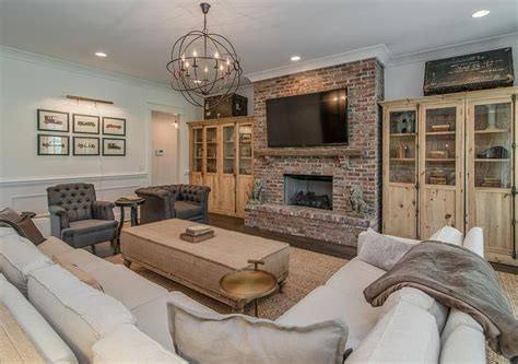 red and cream living room 10 one brick at a time beautiful living room features a red brick fireplace