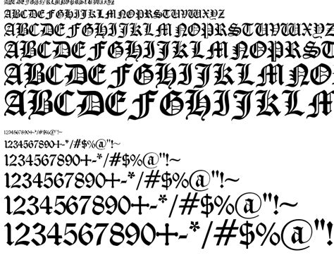medieval tattoo font generator old english gothic font download free preview font old
