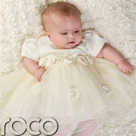 Wedding Dresses For Babies by Baby Ivory Dress Wedding Babys Bridesmaid