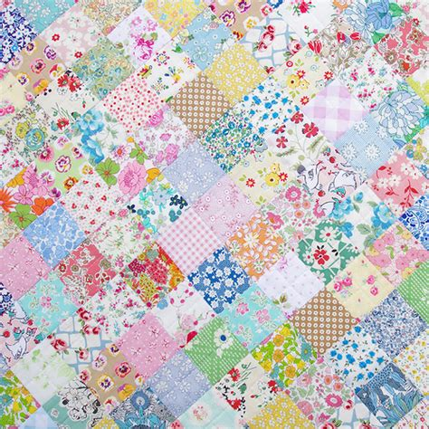 Patchwork Quilt - pepper quilts scrappy liberty patchwork quilt