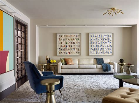 prewar manhattan apartment  combines whimsy