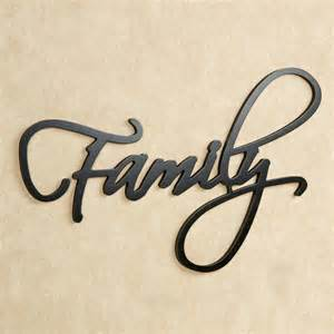 word wall decor family word wall