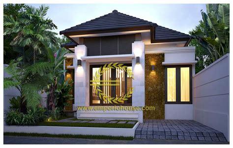 desain interior rumah lebar desain rumah 1 lantai 3 kamar lebar tanah 8 meter dengan