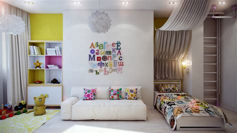 colorful room crisp and colorful kids room designs