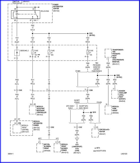 2005 chrysler 300 wiring diagram chrysler wiring diagram