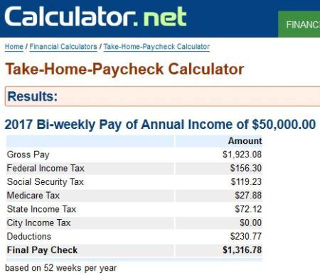 payroll calculator tax calculator gross pay calculator