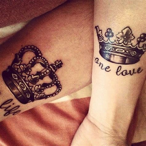 his queen her king tattoos king his my style tattoos