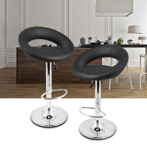 open kitchen bar counter and two bar stool design set of 2 bar counter stools modern faux leather kitchen