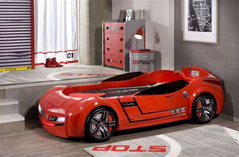 childrens car bed car bed bedroom modern miami by turbo beds