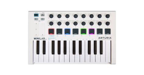 Arturia Minilab Mk2 minilabmk2 149 arturia minilab compact midi controller keyboard mk2 better