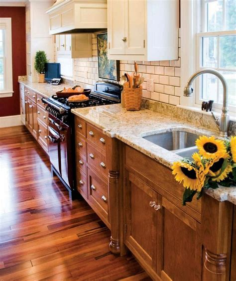 image result  wood  whiteupper cabinets small