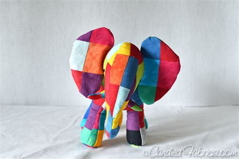 The Patchwork Elephant - elmer patchwork elephant fabric best elephant 2017