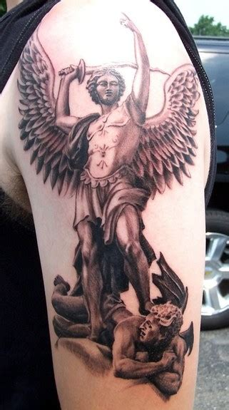 saint michael tattoo designs st michael designs
