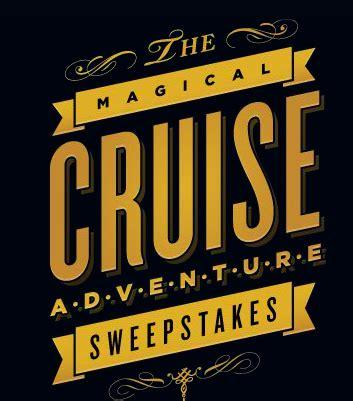 Disney Cruise Line Sweepstakes - disney cruise line s magical cruise adventure sweepstakes