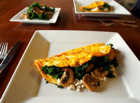 cottage cheese omelette high protein cottage cheese omelette with kale and