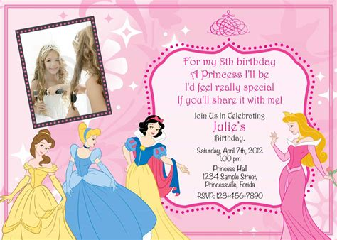 princess birthday invitations free unique ideas for princess birthday invitations egreeting