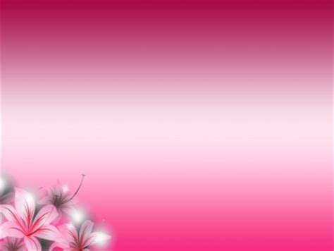 Floral Gradient Pink Flowers Background Hq Free Download Pink Flower Background Powerpoint Backgrounds For Free