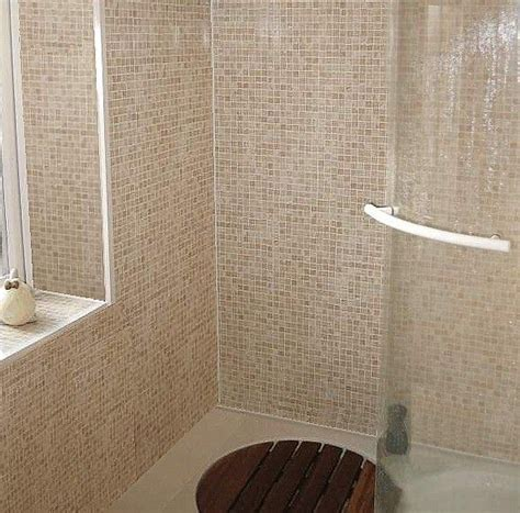 tiled panels bathroom mosaic beige sand tile effect panels from the bathroom marquee