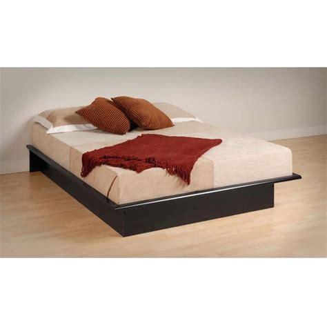 prepac platform bed prepac platform bed in full or queen size black bb bbd
