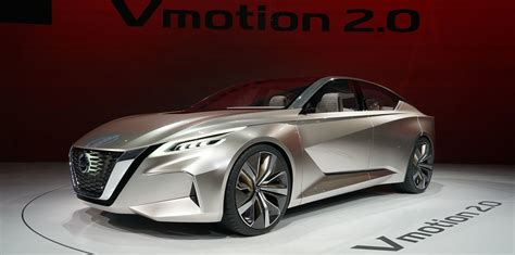 nissan vmotion 2 0 concept points to an edgier sedan
