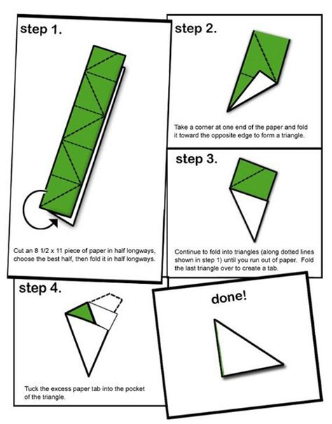 How To Make An Origami Football - how to make a paper football the best wallpaper arts and