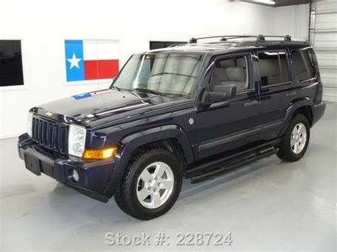 Jeep Commander Roof Rack Buy Used 2006 Jeep Commander 4x4 7 Pass Side Steps Roof