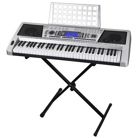 Sale Portable Electronic Piano Electronic Piano Organ 61 key electronic piano keyboard key board organ with x stand heavy duty ebay