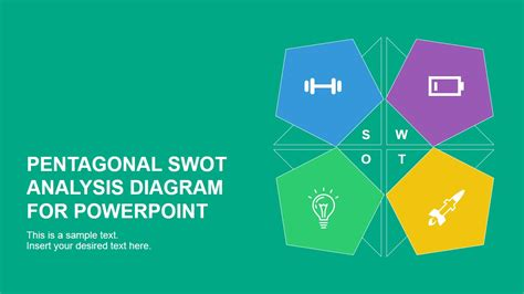 Ikea Design Tool pentagonal swot analysis diagram for powerpoint slidemodel