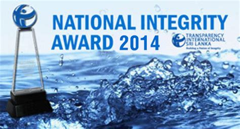 Honesty Award Letter Transparency International Sri Lanka Nia Nominations Extended Till 05th September