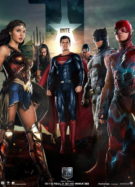 film justice league full justice league movie poster 4 by saintaldebaran on deviantart
