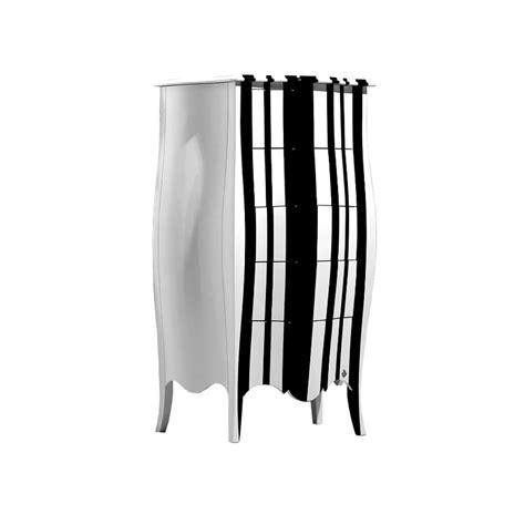 Commode Noir Et Blanc 7100 by Commode Noir Et Blanc Poignes Pieds Et Bordure