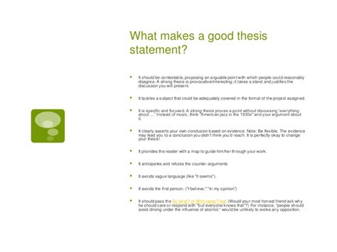 What Is The Benefit Of A Clear Working Thesis Statement by Research Essay Guidelines And Sle Caribbean Computing
