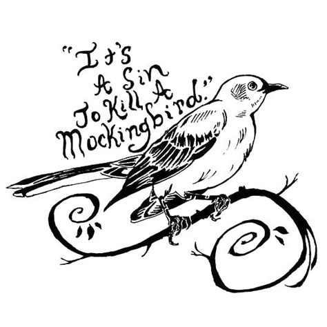 is it a sin to have tattoos black it s a to kill a mockingbird design
