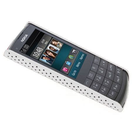 Cassing Nokia Type 3350 perforated for nokia x3 02 touch and type white