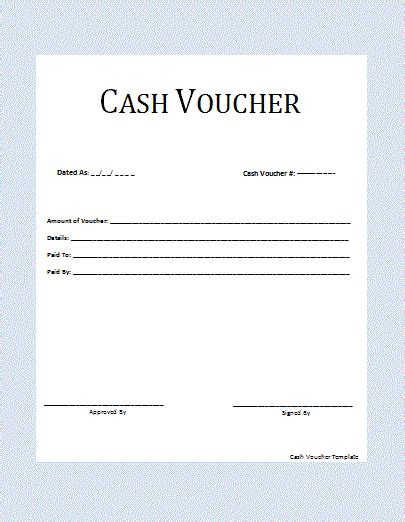 cash receipt voucher sample sample receipt voucher template 8